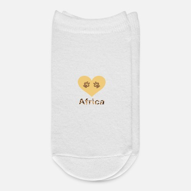 Pattern Heart of Africa, love Africa, African - Ankle Socks