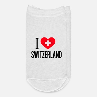 Switzerland I Love Switzerland / Schweiz - Ankle Socks