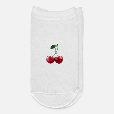 Wet Kirschen - Cherries wet - Ankle Socks