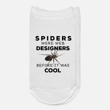Web Spinne - Spiders web designers - Ankle Socks