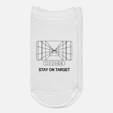 Target STAY ON TARGET 1977 TARGETING COMPUTER - Ankle Socks