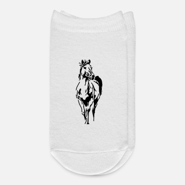 Stall Horse,animal, pet, - Ankle Socks