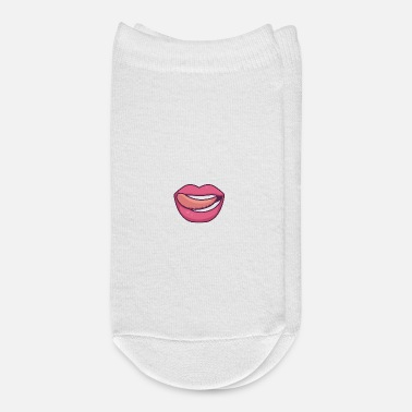 Wet Lips Wetting - Ankle Socks