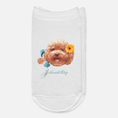 Toy Toy Poodle - Ankle Socks