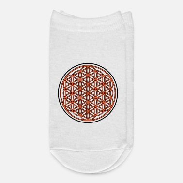 Life Flower Circle of Life / Flower of Life - Ankle Socks