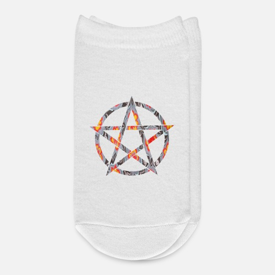 Magic Socks - pentagram e 33 - Ankle Socks white