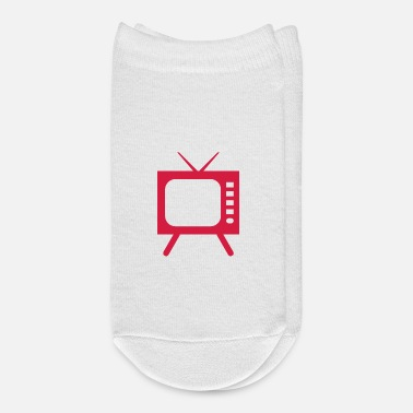 Television TV Symbol Television - Ankle Socks