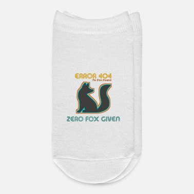 ERROR No Fox Found - Ankle Socks