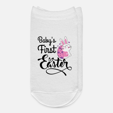 First Name baby's first Easter - Ankle Socks