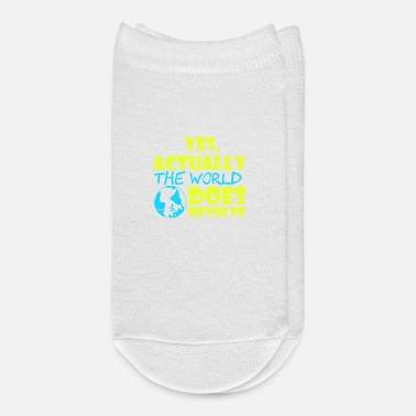 The People Who Need Dogs T shirt Design for Dog Lovers - Ankle Socks