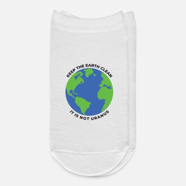 Clean Keep The Earth Clean - Ankle Socks