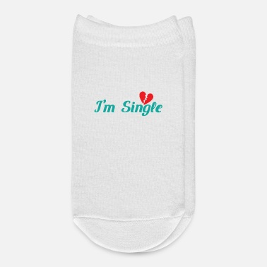 Single Single I'm Single - Ankle Socks