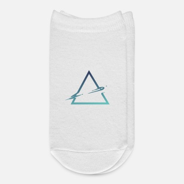Triangle Wet triangle cool triangle space style - Ankle Socks