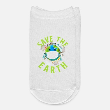 Bio Save The Earth Bio Nature Environment Gift Idea - Ankle Socks