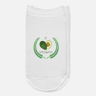 Animal Welfare I Love Vegan Veganism Animal Welfare Gift Idea - Ankle Socks