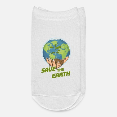 B Day Save The Earth - Earth Day - There Is No Planet B - Ankle Socks