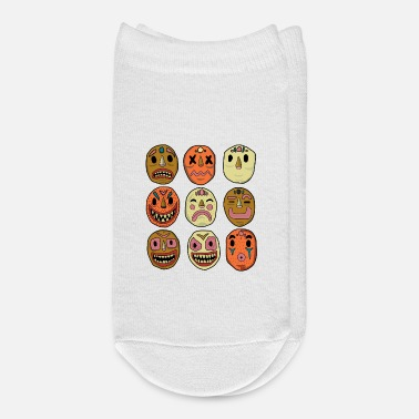Expression Colorful masks with moods and feelings expressions - Ankle Socks