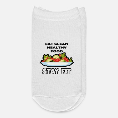 Clean Eat Clean Food - Ankle Socks