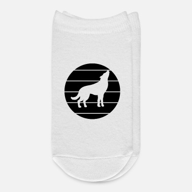 Silhouette Wolf Silhouette - Ankle Socks