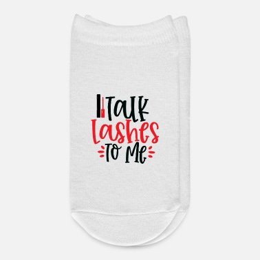 Pretty Talk Lashes To Me - Ankle Socks