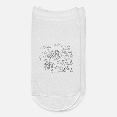 Landscape Mother Nature Panorama - Ankle Socks