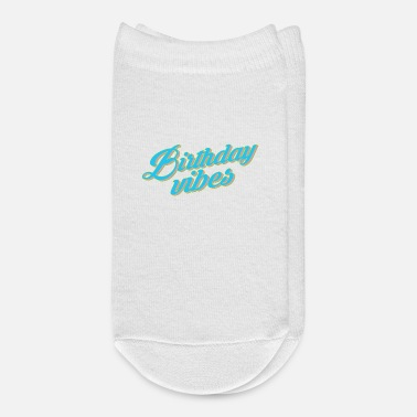 Bursdag Happy Birthday Vibes - Ankle Socks