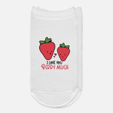 I Love You Berry Much - Ankle Socks
