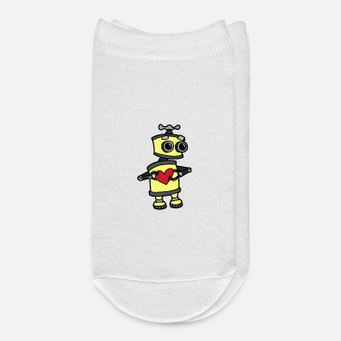 Robot Robot Love Machine space travel Robot Fantasy - Ankle Socks