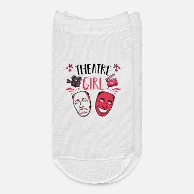 Stage Theatre Girl Statement Cool Actor Gift - Ankle Socks