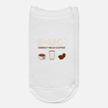 Mc E = MC/2 Coffee - Ankle Socks