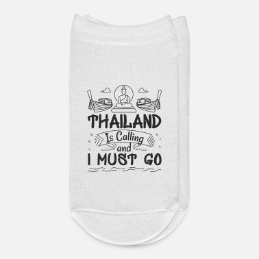 Vacation Thailand Is Calling Vacation - Ankle Socks