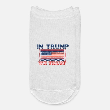 King Trump, USA 2020, PRESIDENTIAL ELECION - Ankle Socks