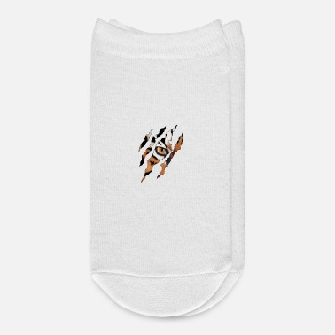 Scratch Tiger Claw Cheetah Scratch - Ankle Socks