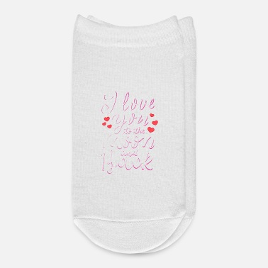 I Love You To The Moon And Back - Ankle Socks