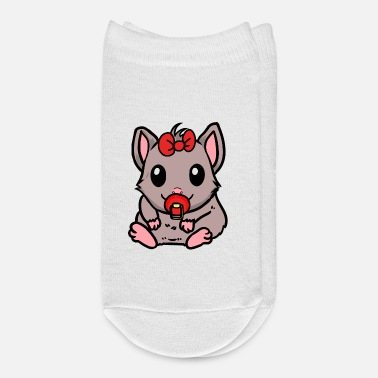 Rodent Baby Hamster Rodent Pets Kida Fantasy - Ankle Socks