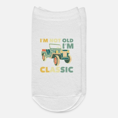 Vehicle SUV Jeep Oldschool Off-Roader Classic I Gift Idea - Ankle Socks