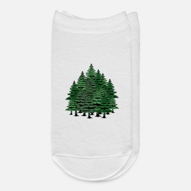 Nature Lovers Tree nature Climate Co2 Nature lovers Planet - Ankle Socks