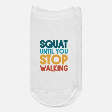 Funny Gym Fitness legs - Ankle Socks