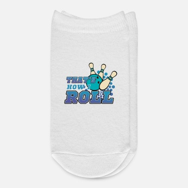Funny Bowling Bowling, Bowling Pin - Ankle Socks