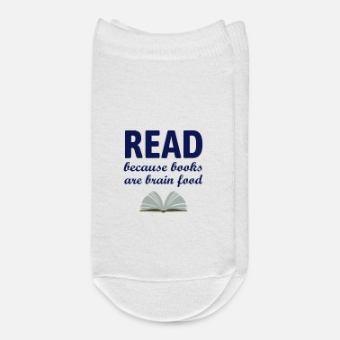 Book Gift For Readers Book Lovers Bookworm Teacher - Ankle Socks