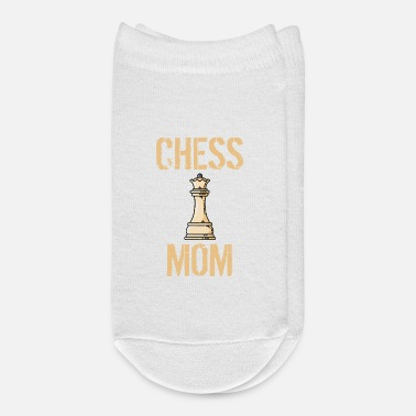 Checkerboard Chess Mom - Ankle Socks