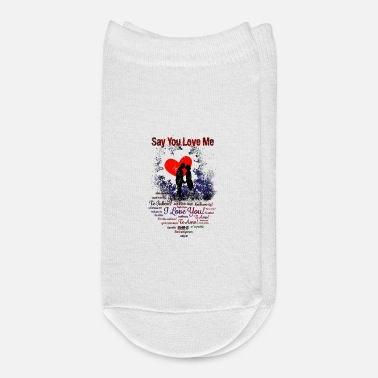 Kiss Say You Love Me - Ankle Socks