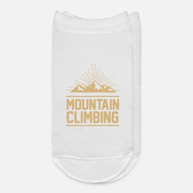 Mountains Shinning Mountains - Mountain Climbing - Ankle Socks
