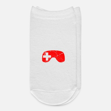 Switzerland Switzerland flag ski gift winter sports skiing - Ankle Socks