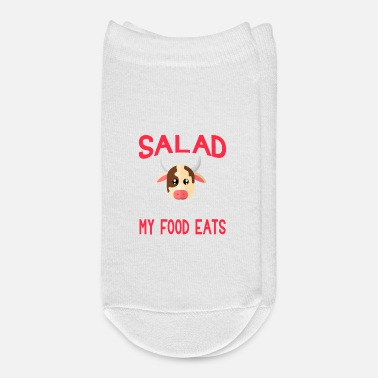 Salad Thats What My Food Eats Cow - Ankle Socks