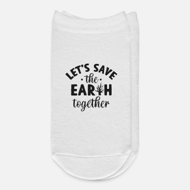 Enviromental Climate Change Earth - Ankle Socks