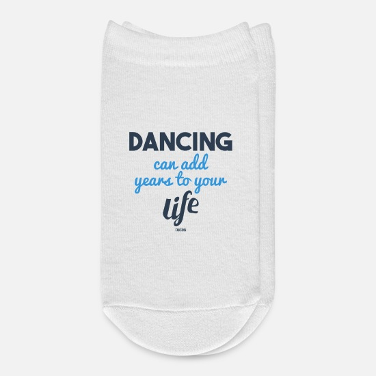 Loud Socks - Dancing Sports Music Party Gift loud - Ankle Socks white