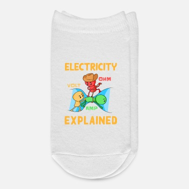 Electricity Electricity Explained - Electrician - Ankle Socks