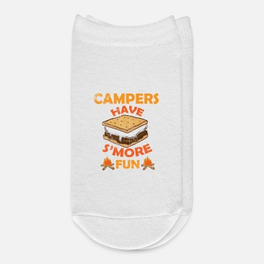 Roast Campers Have S'more Fun Camping Smores S'mores Pun - Ankle Socks