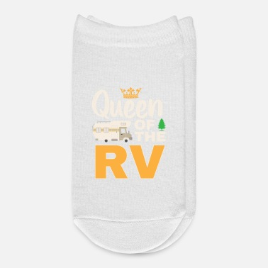 Mobile Queen Of The RV Mobile Home rv owner Shirt - Ankle Socks